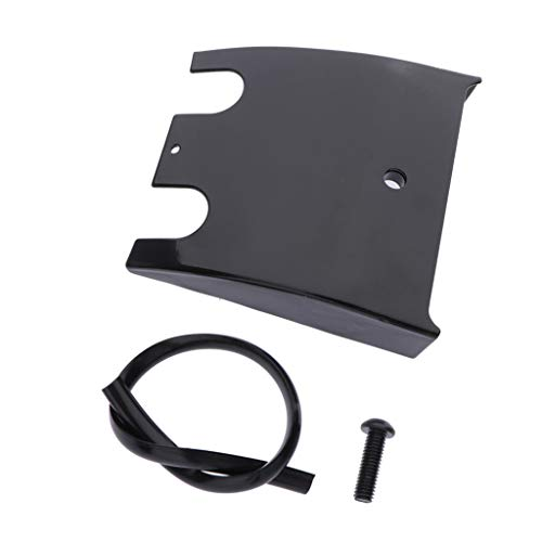D DOLITY Extended Dash Panel Instrument Board Extension for Harley Touring 90-07 - Black