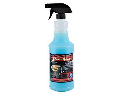 DU-MOST Express Wax Spray to Seal, Shine & Polish Car, Boat or Motorcycle, Speed/Instant Detailing, Weather, Dust, Dirt Resistant & Protection (32 Oz)