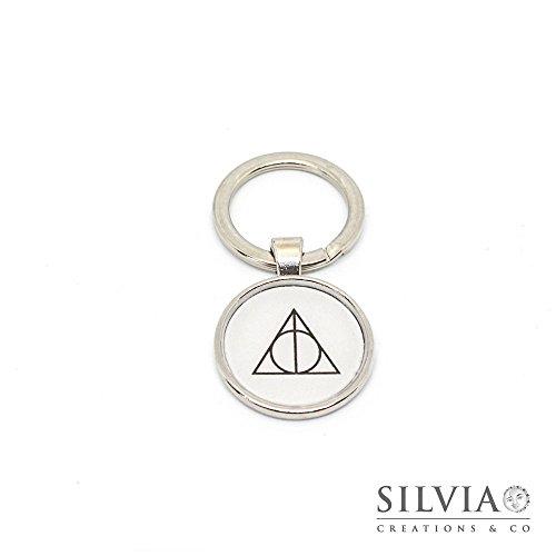 Portachiavi Harry Potter Doni della Morte da 25 mm