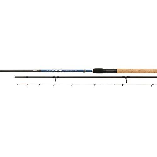 SHIMANO Super Ultegra AX Feeder 3.30m, 60g, Parti 4+3, Canna da Pesca Feeder, SULTAXPR60FDR