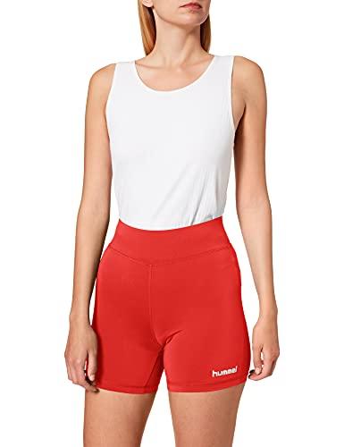 hummel Damen CORE Hipster Woman Shorts, True Rot, S
