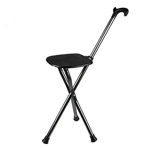 Outdoor Camping Portable Light Folding Table Hoge Quanlity buiten beweegbare opvouwbare middelste en oude verouderde stoel stoel stoel met bank (zwart algemeen) voor outdoor camping