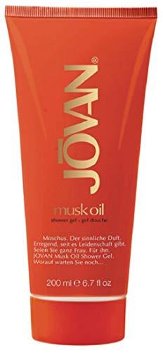 Jovan Musk Oil Duschgel, 2er Pack (2 x 200 ml)