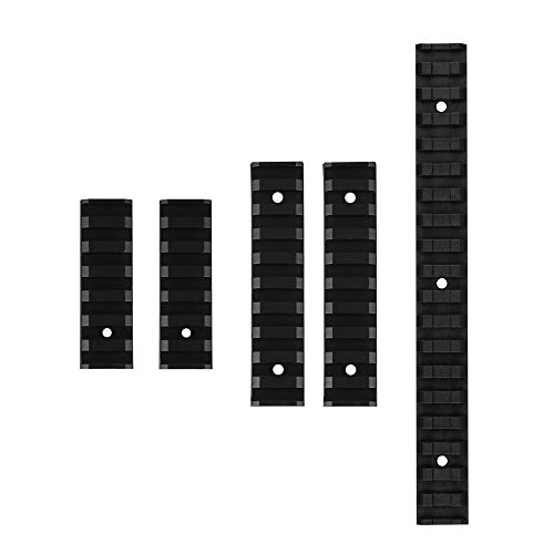 WORKER Picatinny Weaver Rail Slot Sets for Nerf N-Strike Elite Rapidstrike CS-18 Blasters Toy