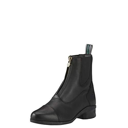 ARIAT Damen Stiefelette Heritage IV Zip H2O (mit Reißverschluß vorne), schwarz, 6 (39)