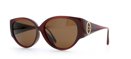 Christian Dior Damen Sonnenbrille Rot Rot