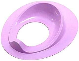 sjzwt 2020 NUEVOS NIÑOS BAÑO BAÑO Aumento Asiento Asiento Asiento TRATANTE DE CUBIENCIA Nueva NIÑO Anillo PUPTY Transporte Cubierta DE Asiento (Color : Purple)
