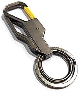 Fashion Metal Key Rings Car Steel Belt Keyrings Chain Gift Stylish Men Women Luxury Alloy Heavy Duty