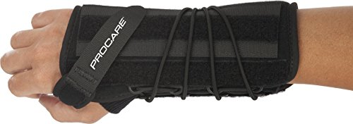 ProCare Quick-Fit II Wrist Support Brace, Right Hand, One Size Fits Most