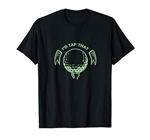 Golfball Golfspieler Golfplatz Golfschläger Putter Geschenk T-Shirt