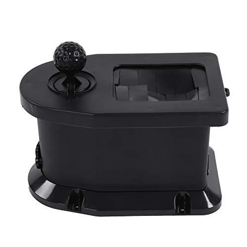 MAGT Hartplastik Schwarz Zubehör for tragbare Golfschläger- und Ballreiniger als Alternative zu Handtuch-, Bürsten- und Rillenreinigern