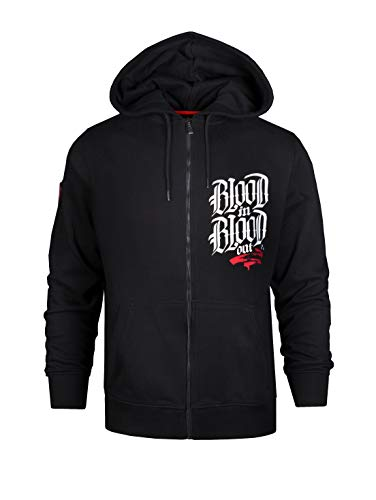 Blood In Blood Out Marca Zipped Hoodie XL