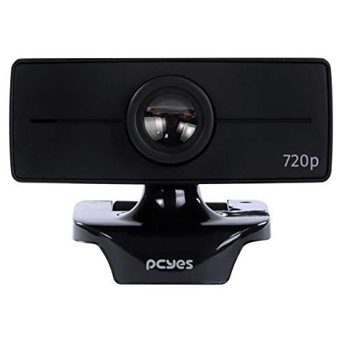 WEBCAM RAZA - PCYes FHD-02 720P - PCYES FullHD SENSOR: CMOS para Chamadas e Gravações