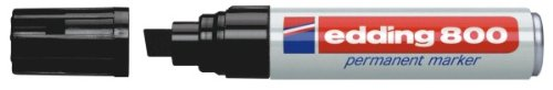 edding 4-800001 Permanentmarker 800, nachfüllbar, 4 - 12 mm, schwarz