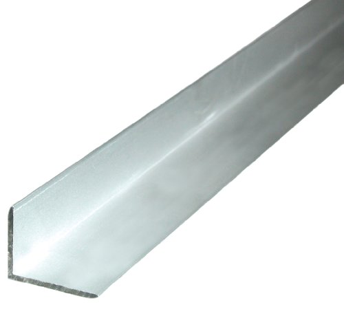 Winkelprofil aus Aluminium, 1000 x 22,8 x 19 mm, goldfarbig eloxiert