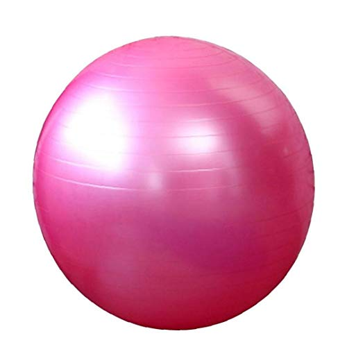 Apoyos Bola de la Gimnasia Yoga Bola de la Aptitud del Ejercicio de Estabilidad contra la explosión de Bola por el Yoga, Pilates, Fitness Embarazo Rosa del Trabajo 65cm