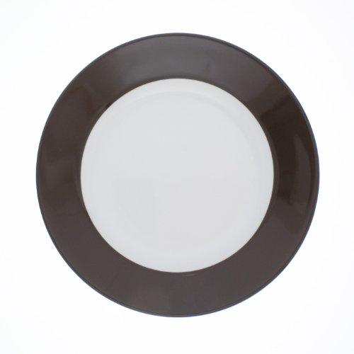 KAHLA Frühstücksteller PRONTO COLORE, 20,5 cm schokobraun (H.Nr. 573447A72605C)