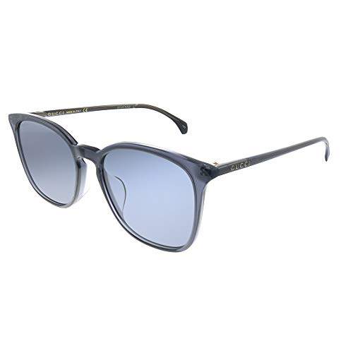 Gucci GG 0547 SK-003 - Gafas de sol, color gris y azul