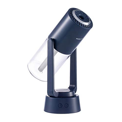 Amuzocity La Noche del Aceite del Aroma del Difusor de Aire del Humidificador del USB Se Enciende hasta El Hogar - Azul Oscuro