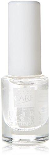 Eye Care Cosmetics Nagellack, Klarlack, Ultra-Silizium und Urea, 5 ml