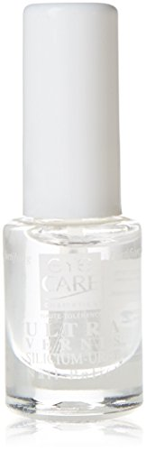 Eye Care Cosmetics Nagellack, Klarlack, Ultra-Silizium und Urea, 5 ml
