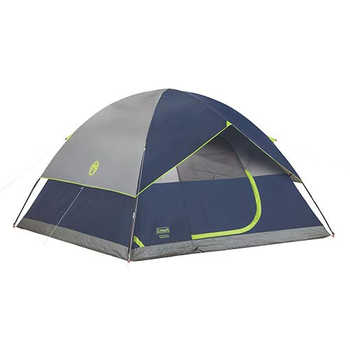 Coleman, Sundome Dome Tent, 6 Person, Blue/Gray