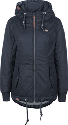 Ragwear Jacke Damen DANKA 2011-60024 Dunkelblau Navy 2028, Größe:XS