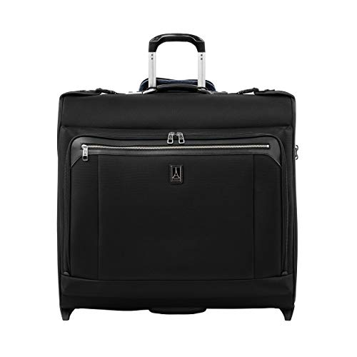 Travelpro Platinum Elite Rolling Carry-on Suit Garment Bag 2 Wheels 61x62x27 cm Softside and Durable with TSA Lock 95 Litres Travel Luggage Black Colour 10 Years Warranty
