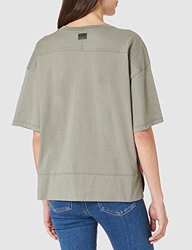 G-STAR RAW Big Object Print Loose Camiseta, Shamrock 4107-2199, XL para Mujer