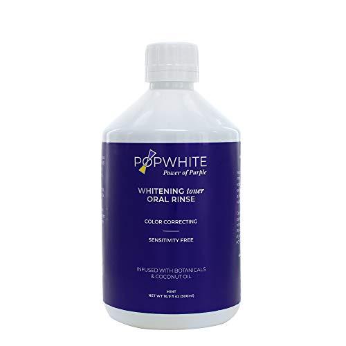 POPWHITE Whitening Toner Oral Rinse - Manufacturer Date 2/21