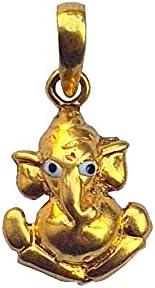Certified Solid 22K/18K Yellow Fine Gold Ganesha Design Pendant Available In Both 22 Carat And 18 Carat Fine Gold,For Women,Girls,Kids,Mens,Boys,Childrens,For Gift,Wedding,Regular Wear