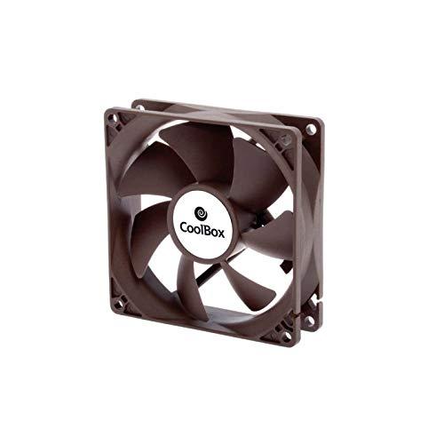 Coolbox - Ventilador auxiliar 8cm / 1600rpm / color negro