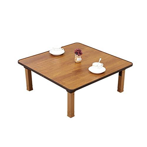 Klapptisch, Zuhause, Koreanischer Stil Esstisch/Quadratischer Tisch/Kang-Tisch /-Studientisch, Geeignet Für Tatami/Bay Window/Tee House (Size : 60 * 60cm)