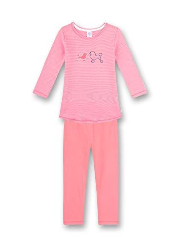 Sanetta Mädchen Schlafanzug Hund, pink 232502 (140)