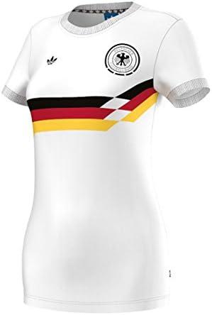 Adidas Retro Camiseta de Alemania para Mujer