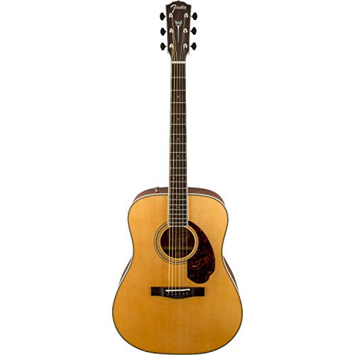Fender Paramount PM-1E Acoustic Guitar - Dreadnought - Ovangkol Fingerboard - Natural