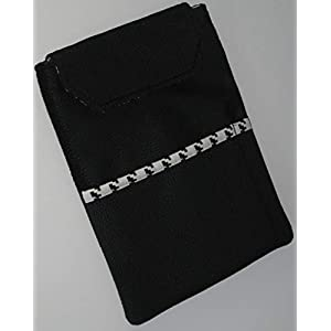 Handmade – Tablet Tasche Hülle Etui Case Sleeve – für Tablet bis 10″ Zoll (Tabletgröße 17 x 24 cm)- Velours Leder