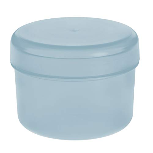 Koziol Rio Vorratsdose mit Deckel, Aufbewahrungsdose, Frischhaltedose, Kunststoff, Powder Blue, 8 cm, 3045639