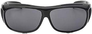Men's Night View Vision Polarized HD Sunglasses UV400 Glasses Unbreakable Night Driving Fishing Shooting Sports