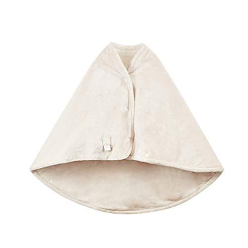 OuPai Electric Blanket Fast Heating Blanket Velvet Heating Blanket,USB Heated Warm Shawl, Suitable For Home/work,Snap Lap Blankets ,Warming Blanket,145 * 100CM/57 * 39IN Fast Heating