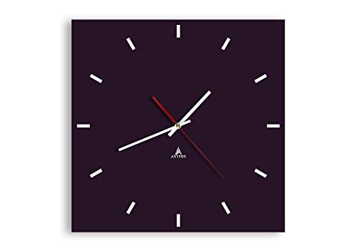 orologio da parete quadrato Orologio da parete - Quadrato - 40x40cm - Orologio da parete - Orologio in Vetro - Orologio Da Muro - Orologio Da Parete Moderno - Decorazione Parete - Home Decor - C3AC40x40-3253