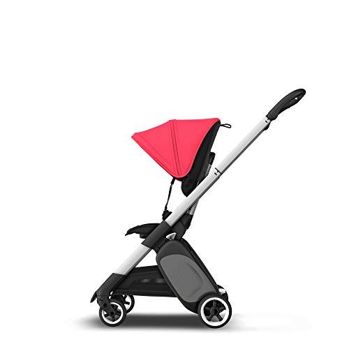 Bugaboo Ant Neonrot, Ultra-kompakter & klappbarer Kinderwagen mit ergonischem Sitz