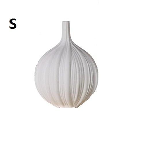 VIUNCE Vase Keramikvase Wohnzimmer Trockenblumengesteck Porzellan Wohnaccessoires Ohne Blumen 3 Sets Desktop-Dekoration (Color : S)