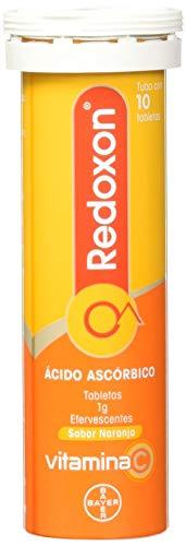Redoxon Comprimidos Efervescentes Naranja, 1 g, 10 tabletas