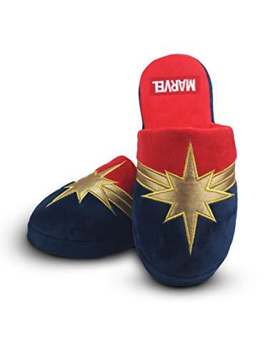 Capitán Marvel de la Mujer Zapatillas de casa