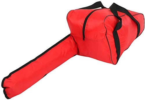 BGTOOL Chainsaw Bag Carrying Case Portable Protection Waterproof Holder Fit for Stihl & Husqvarna 12/14/16/18 inch Chainsaw Storage Bag Red