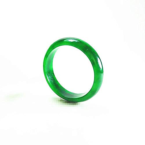 Wuligeya Green Jade and the Emperor Rings, 19mm
