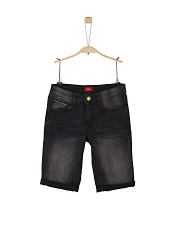 s.Oliver RED Label Jungen Regular Fit: Jeans-Bermuda Grey 164.Slim