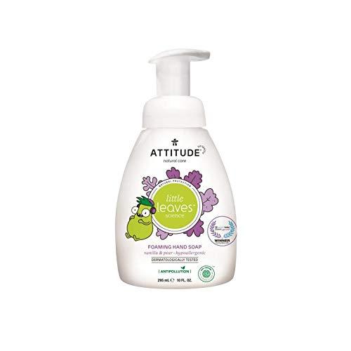 ATTITUDE Little Leaves Hand Wasch Schaum – Vanille & Birne (1 x 295ml)