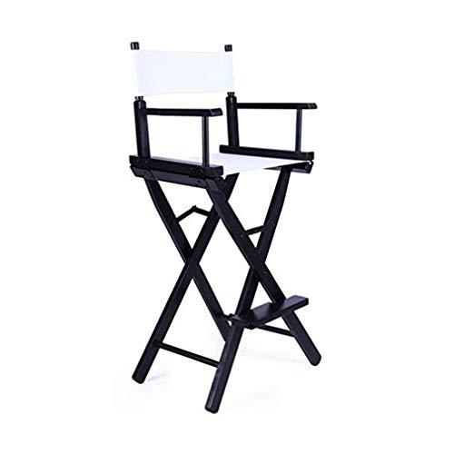 Wuzhengzhijia Massivholz-Klappstuhl Hoch Makeup Stuhl, High-Director Chair Bar Bar Stuhl, beweglicher Stuhl Folding Liegestuhl - No Need to Assemble (Size : T2)